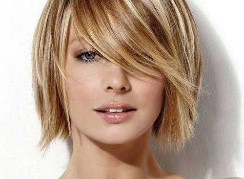 10 Cute Short Hairstyles For Round Faces | Short Hairstyles Pertaining To Short Haircuts For Fat Faces (View 15 of 20)