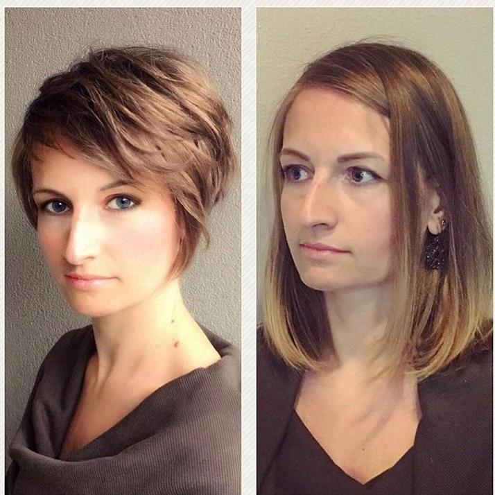 Featured Photo of Short Hairstyles For Large Noses