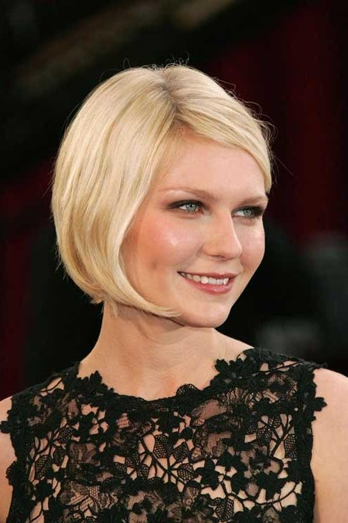 10 Short Bob Hairstyles With Side Swept Bangs | Short Hairstyles Inside Short Haircuts Side Swept Bangs (View 2 of 20)