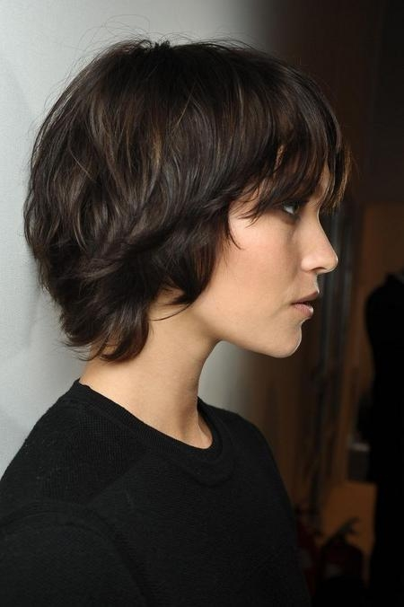 10 Short Choppy Hairstyles To Inspire You With Low Maintenance Short Hairstyles (View 1 of 20)