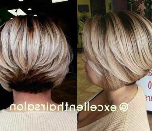 10 Short Haircuts For Straight Thick Hair | Short Hairstyles In Inverted Bob Short Haircuts (View 17 of 20)