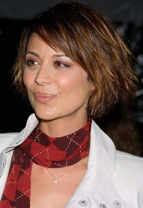 Featured Photo of Choppy Short Hairstyles For Thick Hair