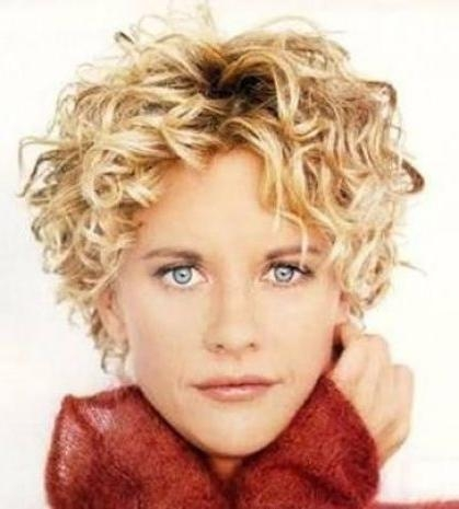 10158 Best Hairstyles Ideas Images On Pinterest   Hairstyles With Short Hairstyles For Curly Fine Hair (View 2 of 20)