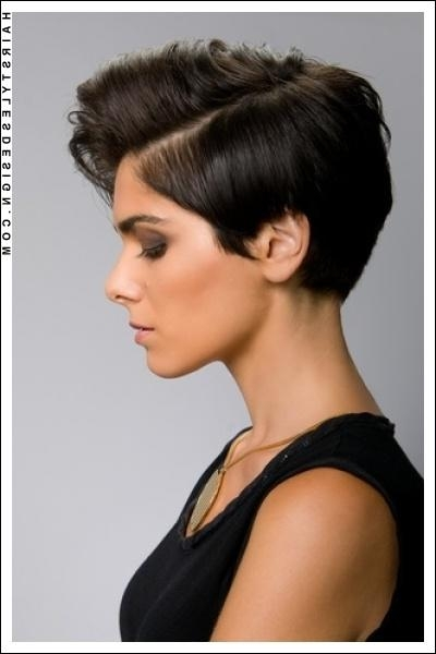103 Best Short Hairstyles For Women Images On Pinterest | Hair Within Short Haircuts For Women With Big Ears (View 1 of 20)