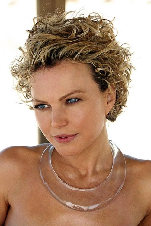 1044 Best Short Curly Hair Images On Pinterest | Makeup, Colors Within Short Hairstyles For Very Curly Hair (View 2 of 20)