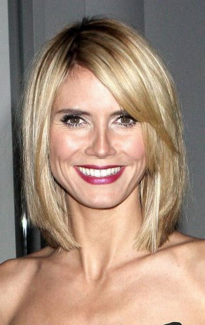 2018 Popular Heidi Klum Short Haircuts