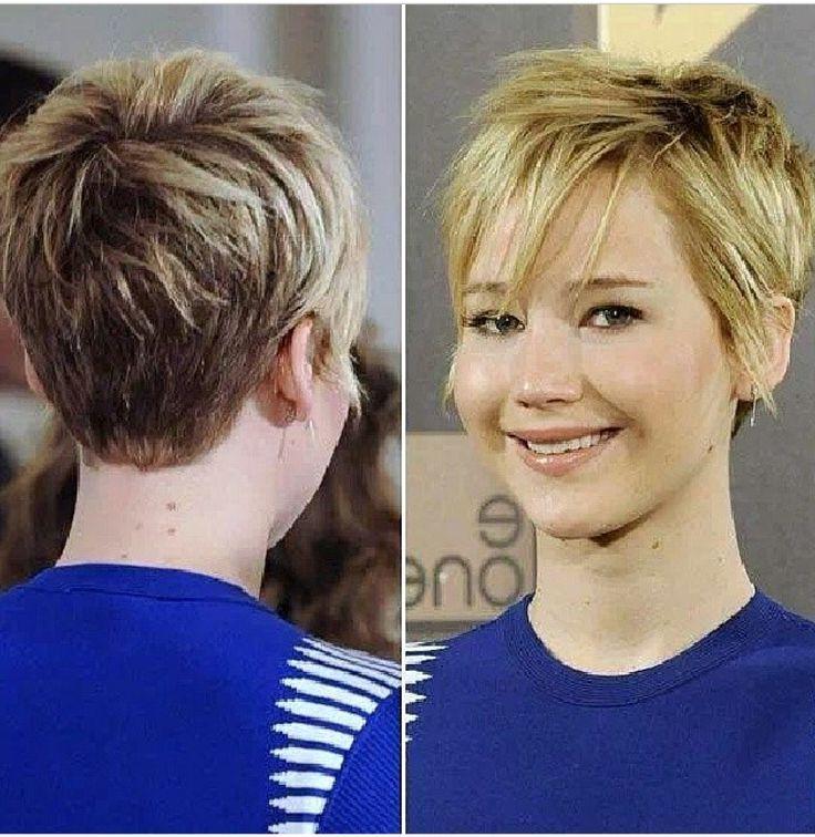 11 Melhores Imagens De Hair No Pinterest | Beleza, Cabelo E Cabelo With Regard To Jennifer Lawrence Short Haircuts (View 1 of 20)