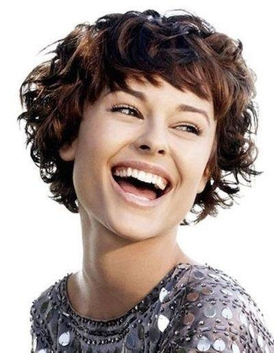 111 Amazing Short Curly Hairstyles For Women To Try In 2017 In Short Haircuts For Thick Curly Hair (View 2 of 20)
