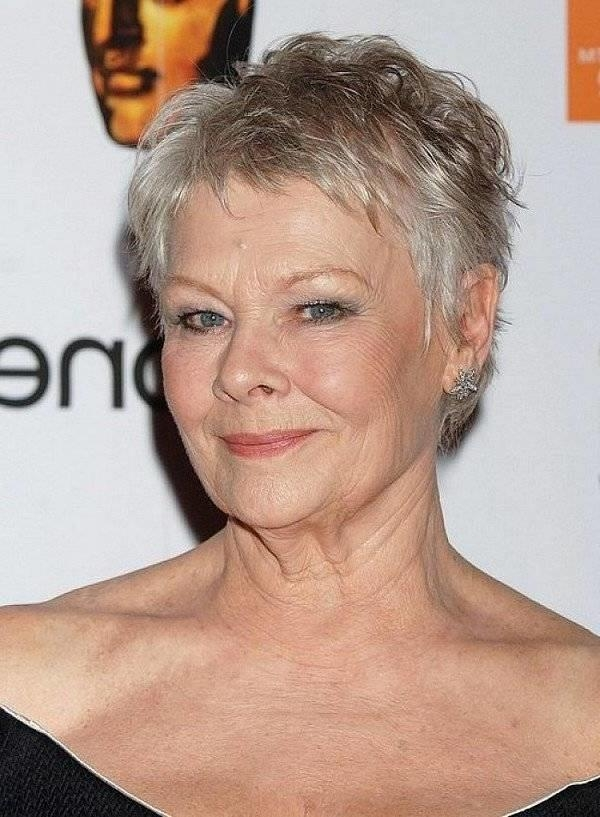 2019 Latest Short Haircuts For Grey Hair