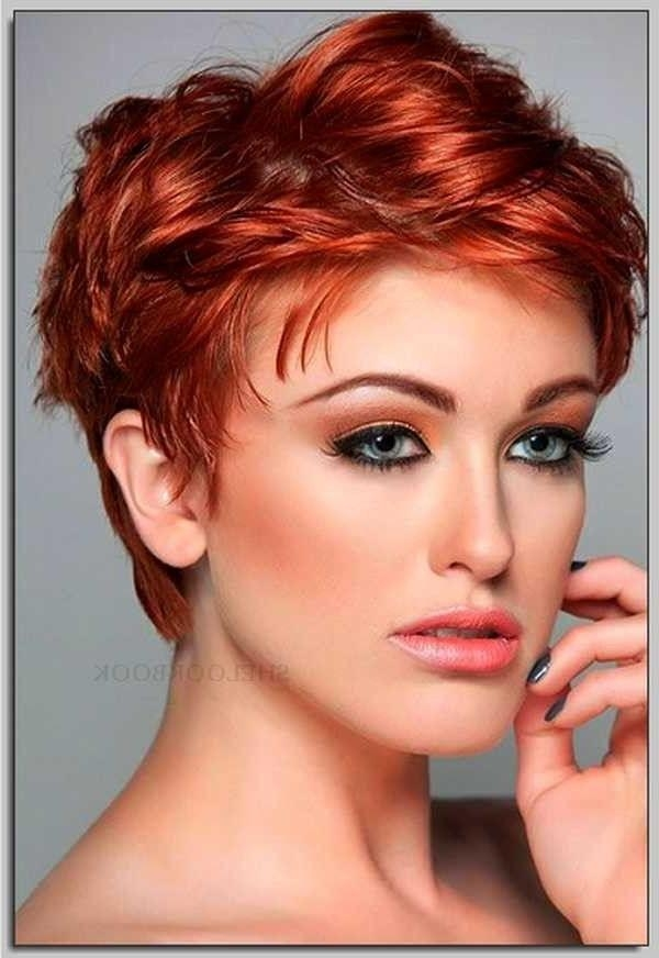 111 Hottest Short Hairstyles For Women 2018 – Beautified Designs With Short Haircuts For Thick Hair Long Face (View 3 of 20)