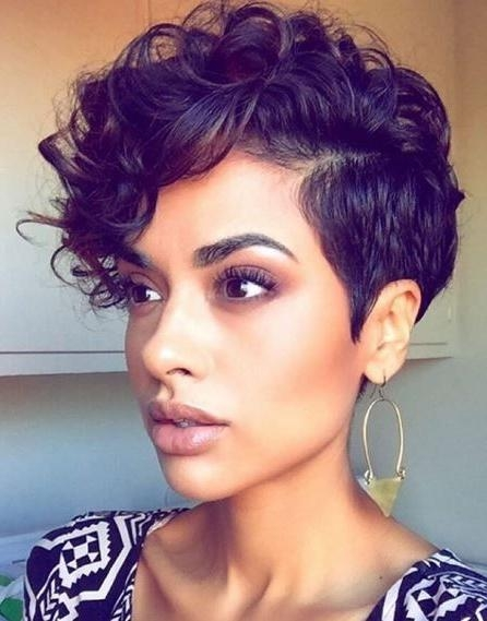 116 Best Pat My Roots Images On Pinterest | Hairstyles, Braids And Inside Short Haircuts For Black Women With Thick Hair (View 2 of 20)