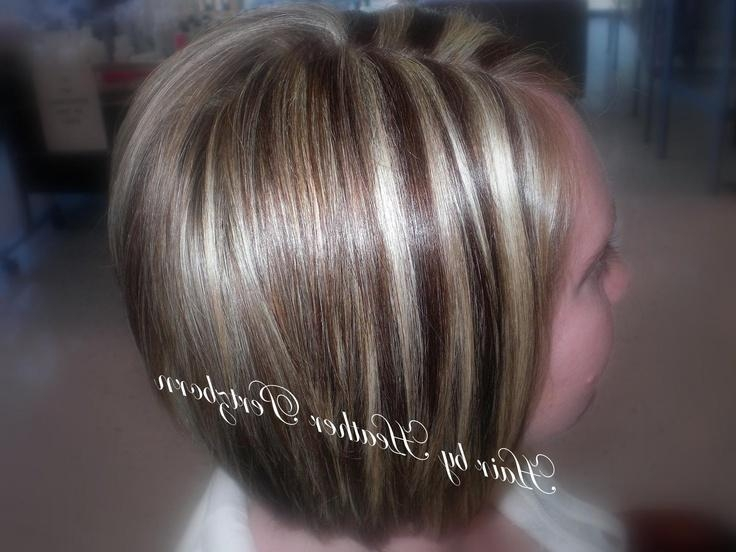 12 Best Hairheather Pertzborn Images On Pinterest | Bridesmaid In Short Haircuts With Red And Blonde Highlights (View 1 of 20)