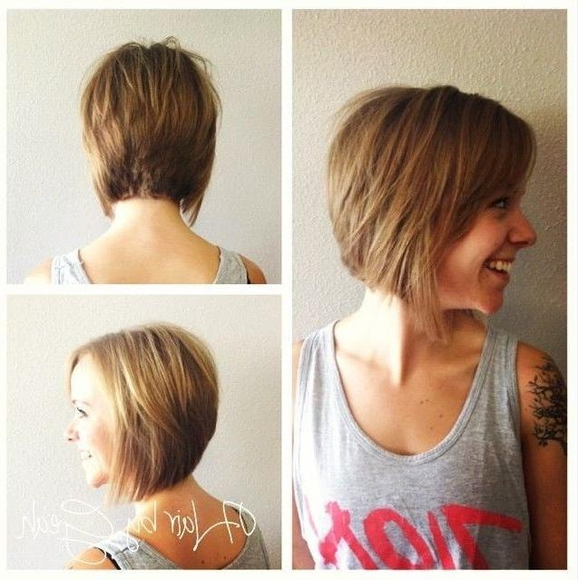 12 Short Haircuts For Fall: Easy Hairstyles – Popular Haircuts With Fall Short Hairstyles (View 1 of 20)