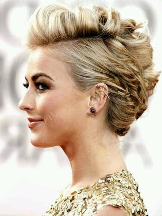 12 Short Updo Hairstyles Ideas: Anyone Can Do – Popular Haircuts In Short Haircuts For Prom (View 1 of 20)