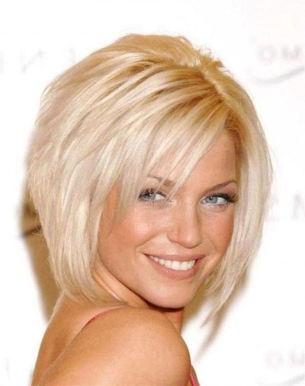 13 Cute Short Hairstyles With Bangs – Pretty Designs Regarding Short Haircuts With Fringe Bangs (View 2 of 20)