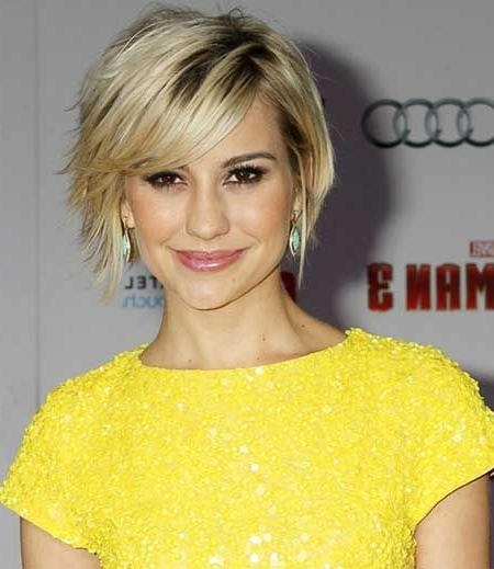 13 Cute Short Hairstyles With Bangs – Pretty Designs Regarding Short Hairstyles With Fringe (View 1 of 20)