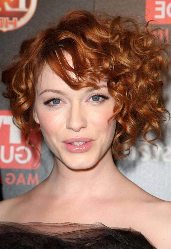 13 Mind Blowing Short Curly Haircuts For Fine Hair Inside Short Haircuts For Curly Fine Hair (View 3 of 20)