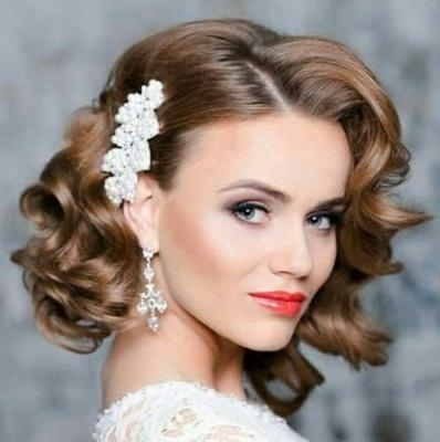 14 Best Indian Bridal Hairstyles For Short Hair: Photos, Tips Throughout Short Hairstyles For Indian Wedding (View 3 of 20)