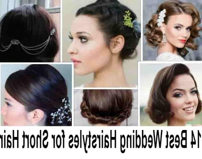 14 Best Indian Bridal Hairstyles For Short Hair: Photos, Tips With Regard To Short Hairstyles For Indian Wedding (View 3 of 20)