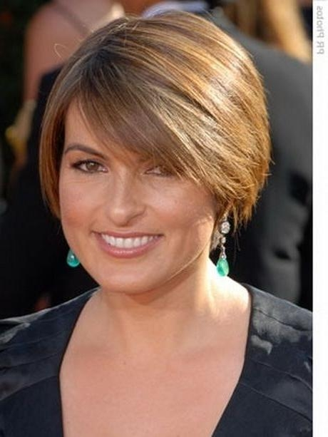 14 Best New Hairstyle? Images On Pinterest | Hairstyles, Hairstyle With Regard To Short Haircuts For Big Foreheads (View 2 of 20)