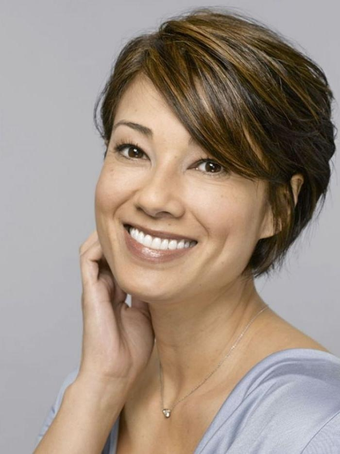 14 Fabulous Short Hairstyles For Women Over 40 – Pretty Designs Within Short Haircuts Over  (View 4 of 20)