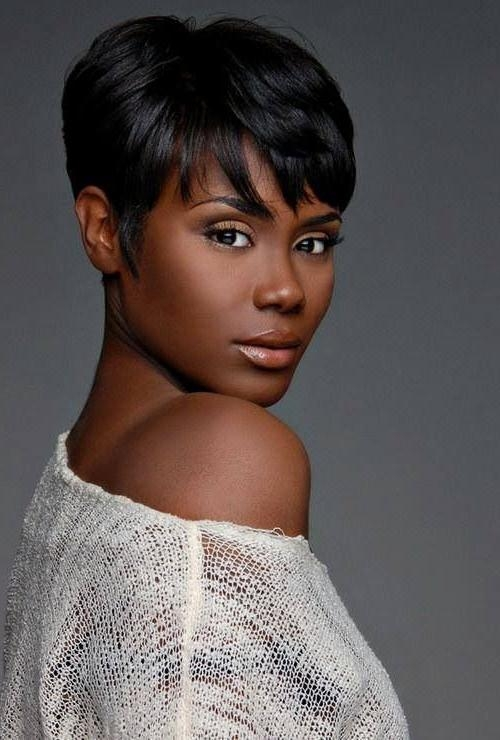 14 Sassy Short Haircuts For African American Women – Pretty Designs Throughout African Short Haircuts (View 1 of 20)