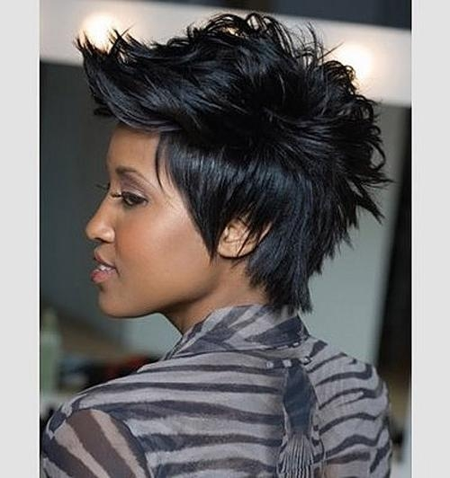 14 Short Edgy Haircuts | Learn Haircuts Intended For Edgy Short Haircuts For Black Women (View 1 of 20)