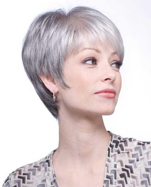14 Short Hairstyles For Gray Hair | Short Hairstyles 2016 – 2017 Pertaining To Short Haircuts For Women With Grey Hair (View 6 of 20)