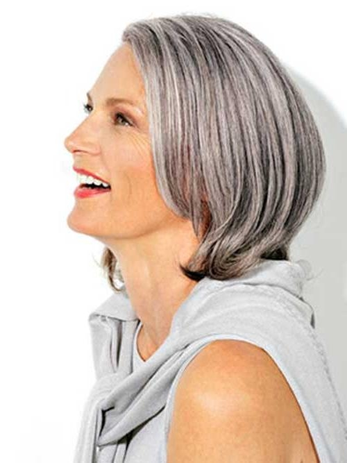 14 Short Hairstyles For Gray Hair | Short Hairstyles 2016 – 2017 Pertaining To Short Haircuts With Gray Hair (View 4 of 20)