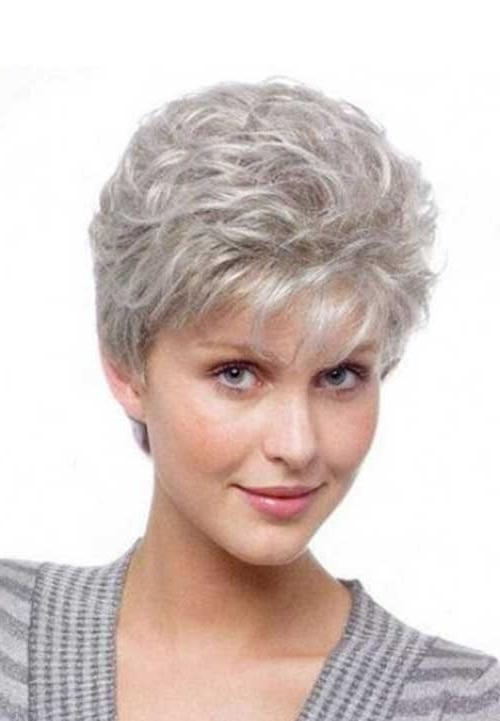 Featured Photo of Short Hairstyles For Grey Hair