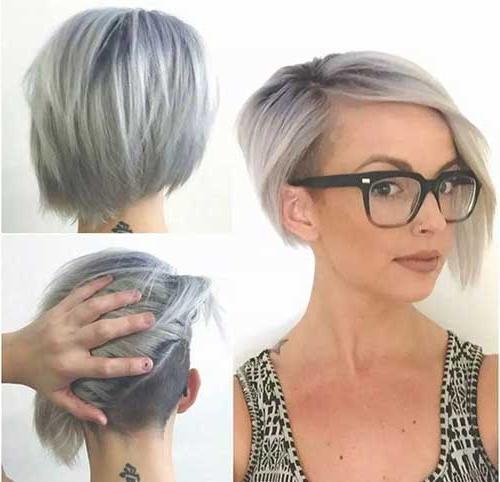 14 Short Hairstyles For Gray Hair | Short Hairstyles 2016 – 2017 Regarding Short Haircuts For Gray Hair (View 4 of 20)