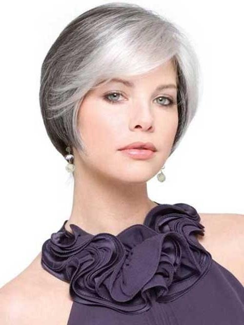 14 Short Hairstyles For Gray Hair | Short Hairstyles 2016 – 2017 With Gray Short Hairstyles (View 9 of 20)