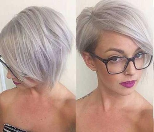 14 Short Hairstyles For Gray Hair | Short Hairstyles 2016 – 2017 With Gray Short Hairstyles (View 2 of 20)