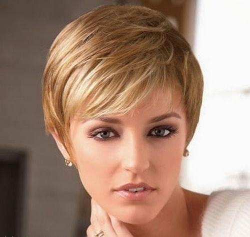 140 Best Short Hairstyles Images On Pinterest | Hairstyles Inside Short Hairstyles For Fine Hair And Long Face (View 2 of 20)
