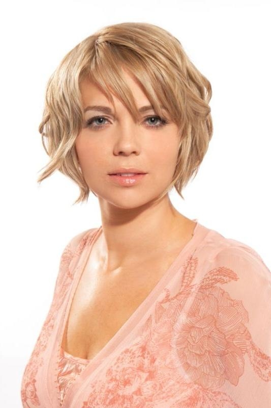 142 Best Short Hairstyles Images On Pinterest | Braids, Hairstyles Pertaining To Low Maintenance Short Haircuts For Round Faces (View 6 of 20)