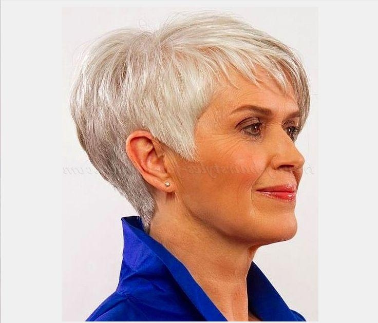 145 Best Short Haircuts For Older Women Images On Pinterest Pertaining To Older Ladies Short Haircuts (View 1 of 20)