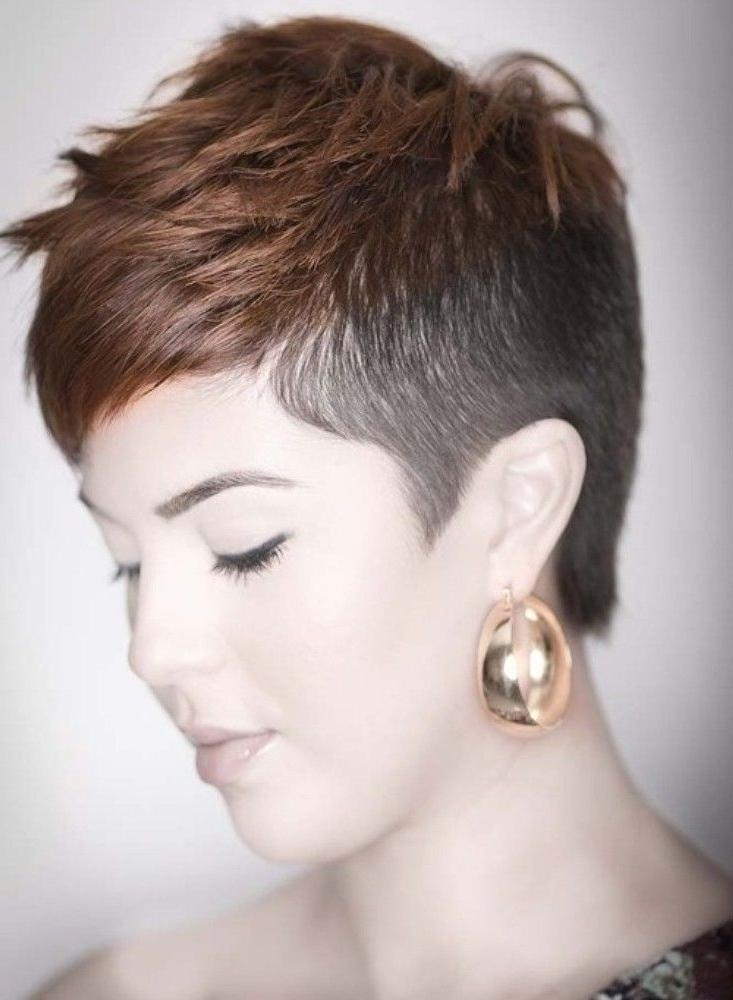 15 Best Hair Images On Pinterest | Hair, Hairstyles And Pixie Styles Within Short Hairstyles With Shaved Sides For Women (View 7 of 20)