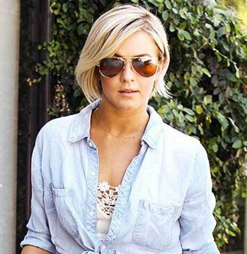15 Best Julianne Hough Bob Haircuts – Crazyforus Within Julianne Hough Short Haircuts (View 2 of 20)