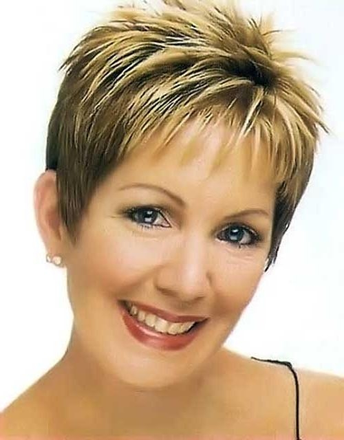 15 Best Short Haircuts For Over 40 | Short Hairstyles 2016 – 2017 Inside Short Haircuts For Women Over (View 17 of 20)