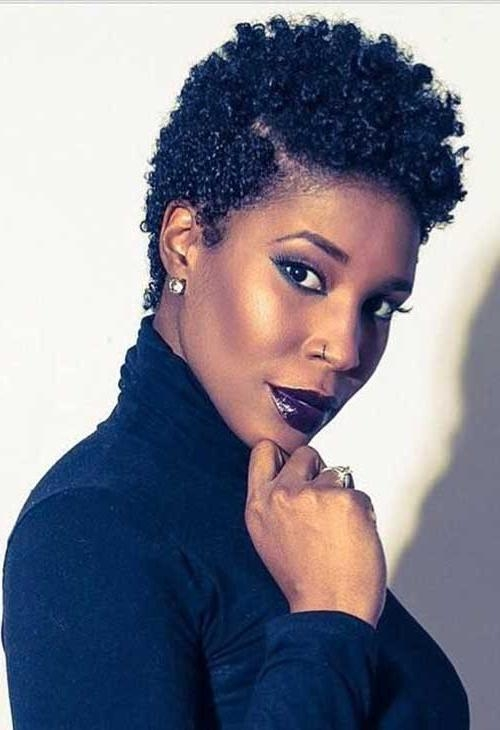 20 Collection of Natural Short Haircuts For Black Women