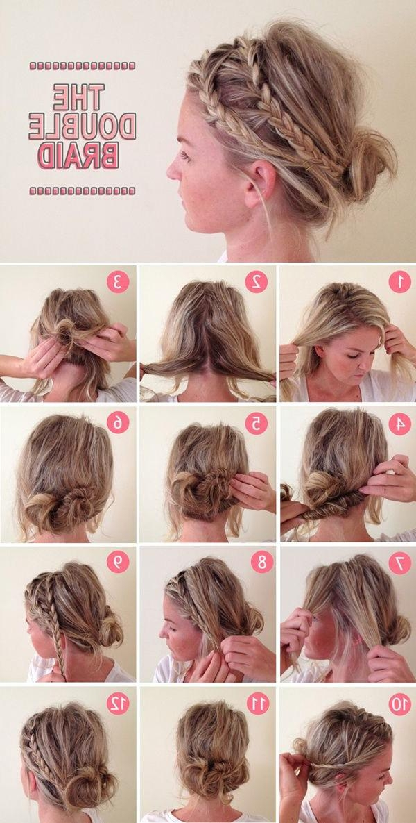 15 Easy No Heat Hairstyles For Dirty Hair – Gurl | Gurl Regarding Short Hairstyles For Work (View 1 of 20)