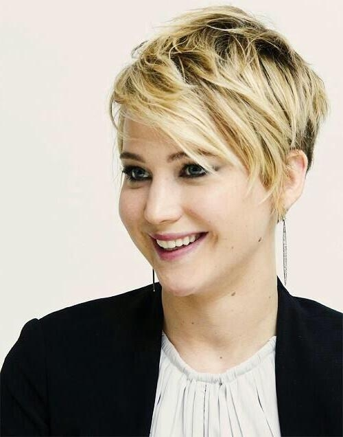 15 Hottest Short Haircuts For Women | Jennifer Lawrence, Haircuts Throughout Jennifer Lawrence Short Haircuts (View 8 of 20)