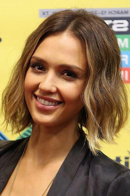 15 Jessica Alba Bob Haircuts | Short Hairstyles 2016 – 2017 | Most Inside Jessica Alba Short Hairstyles (View 1 of 20)