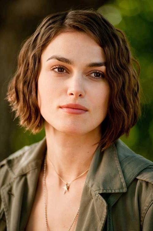 15 Keira Knightley Bob Haircuts | Short Hairstyles 2016 – 2017 Regarding Keira Knightley Short Hairstyles (View 2 of 20)