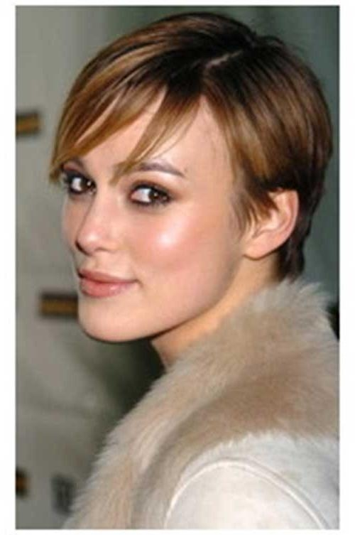 15 Keira Knightley Pixie Haircuts | Short Hairstyles 2016 – 2017 For Keira Knightley Short Hairstyles (View 3 of 20)