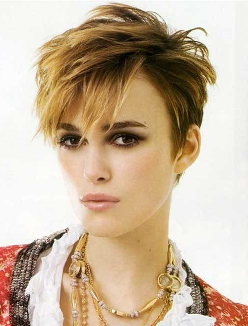 15 Keira Knightley Pixie Haircuts | Short Hairstyles 2016 – 2017 Inside Keira Knightley Short Haircuts (View 7 of 20)