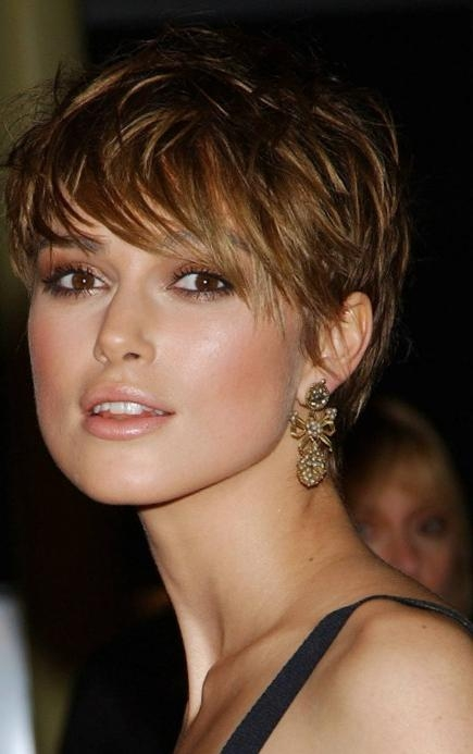 15 Keira Knightley Pixie Haircuts Short Hairstyles 2016 2017 Inside Keira Knightley Short Hairstyles (View 10 of 20)