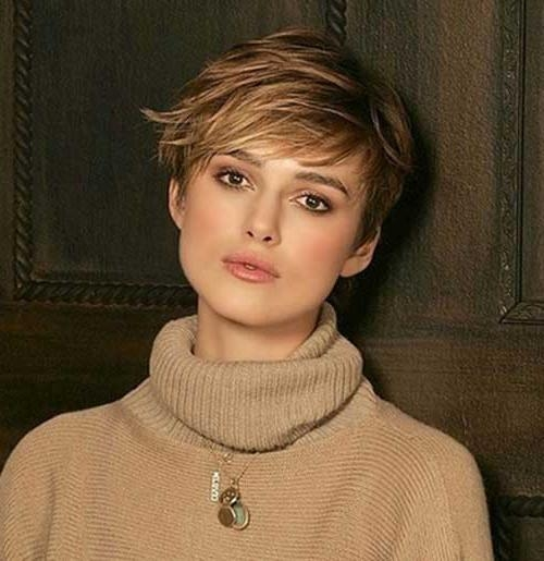 15 Keira Knightley Pixie Haircuts | Short Hairstyles 2016 – 2017 Throughout Keira Knightley Short Haircuts (View 9 of 20)