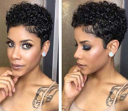 15 Nice Short Natural Curly Hairstyles | Natural Curly Hairstyles Intended For Short Haircuts For Naturally Curly Hair (View 1 of 20)