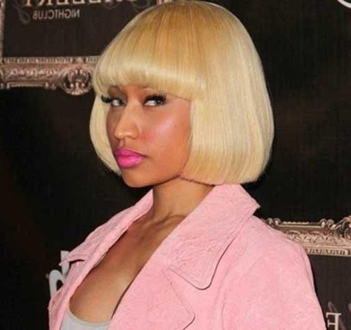 15 Nicki Minaj Bob Hairstyles | Bob Hairstyles 2017 – Short Within Nicki Minaj Short Haircuts (View 3 of 20)